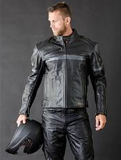 Raiden Leather mc skinnjacka 009881