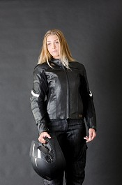 Alive Destro Lady leather mc jacka 009880