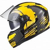 AGR Rage SV Claw Yellow 51017-0303 mc hjälm
