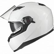 AGR Rage SV White Solid 51013-1003 mc hjälm