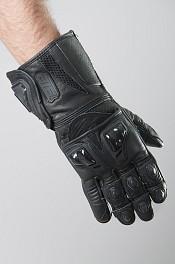 ATA X-tech Ride Black Mc handskar