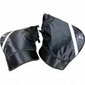 Black Meta Motorcycle Bar Muffs windproof 5126 handvärmare