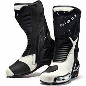 Black Panther Sports 52661044 WHITE mc stövlar