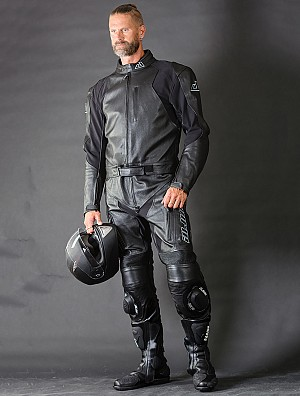 Mc Black-Rider Leather Suit 2- delad  5022