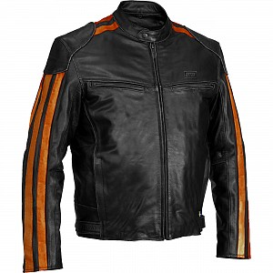 ATA RICO Leather mc skinnjacka  150012