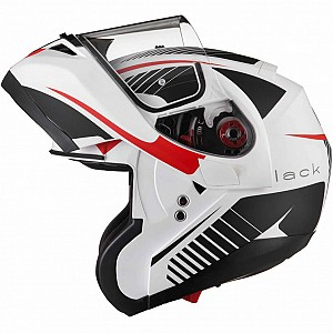 BLK OPTIMUS SV TOUR FLIP FRONT SOLVISIR MATT WHITE RED GREY 13230