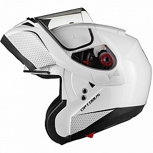 BLACK Optimus SV Flip Front Solvisir White 13229