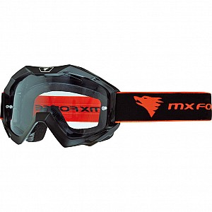 MX Force Magen Solid Motocross 14336-0100 Black Goggles