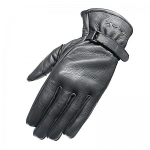 BLACK Axel Leather Motorcycle 51020106 MC HANDSKAR