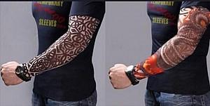 Body Art Arm Stockings Slip Accessories Fake Temporary Tattoo