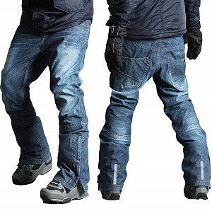 SNOW ATV / SKI / ENDURO KEVLAR ORIGINAL DENIM BYXOR