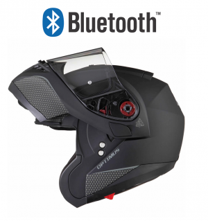 BLUETOOTH VIMOTO BLACK OPTIMUS SV FLIP FRONT SOLVISIR MATT BLACK 12399