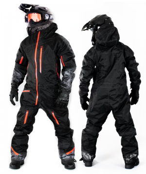 ATA EVOLUTION ORANGE DARKCAMO OVERALL ATV/SNOWMOBILE CE ALLVÄDERSSTÄLL  10-213