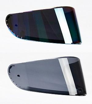 RETRO BLACK Helmet visir