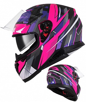 EAGLE RACE 917 SV PINK PURPLE SV MC HJÄLM