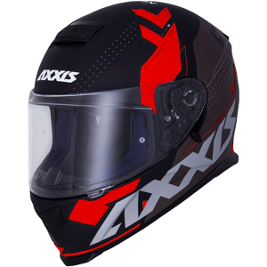 AXXIS EAGLE SV DIAGON D1 RED SUNVISOR MC HJÄLM
