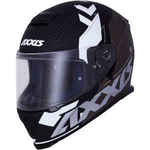 AXXIS EAGLE SV DIAGON D3 BLANCO MATT SUNVISOR MC HJÄLM
