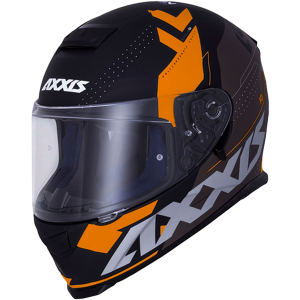AXXIS EAGLE SV DIAGON D4 ORANGE MATT SUNVISOR MC HJÄLM