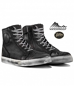 VINTAGE WP RETRO DIRTYBLACK SNEAKERS MC STÖVLAR